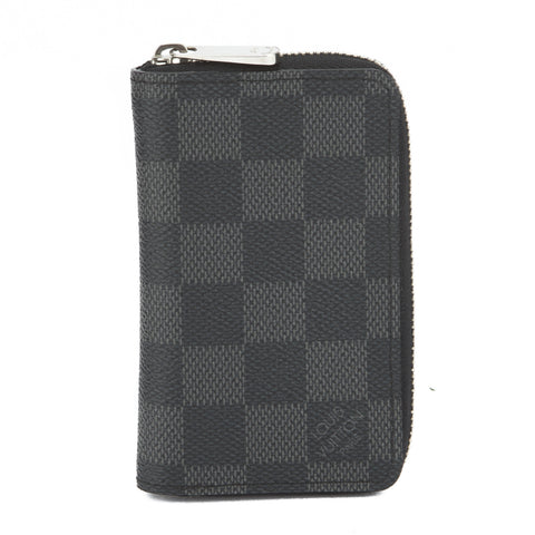 Louis Vuitton Damier Graphite Coin Case (Pre Owned)