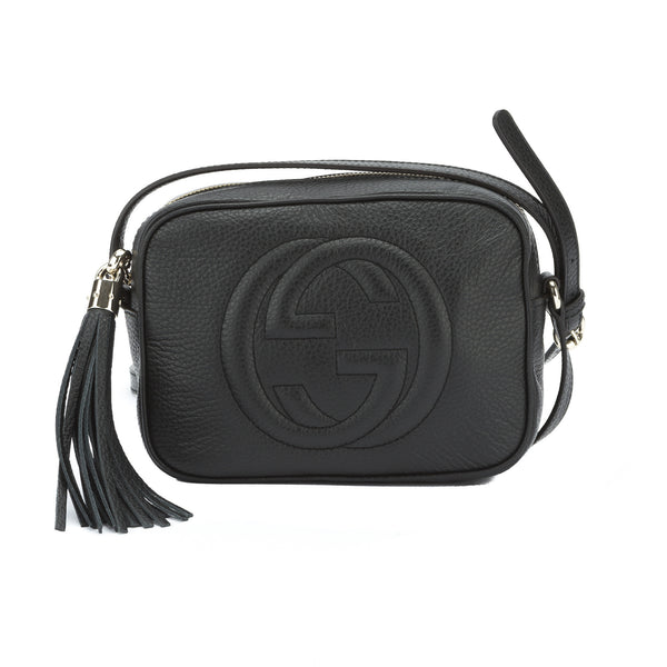 1f87b6d8d Gucci Black Soho Leather Disco Bag (New with Tags) - 2766004 | LuxeDH