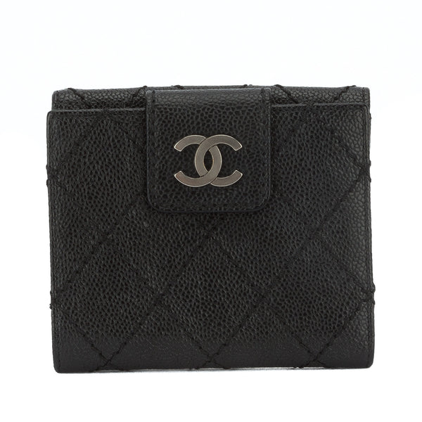 7589958408a6 Chanel Black Caviar Bifold Wallet (Pre Owned) - 2774001 | LuxeDH