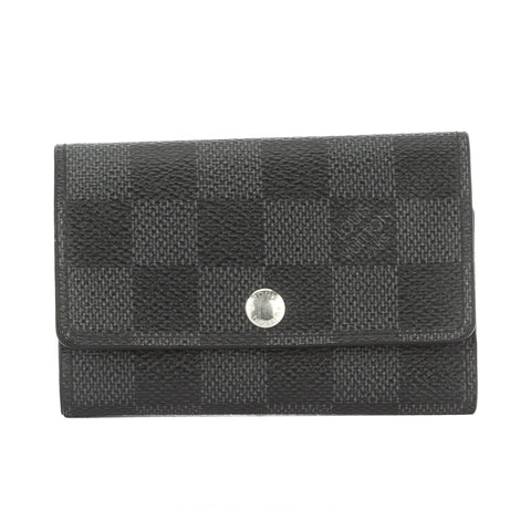 Louis Vuitton Damier Graphite Multicles 6-key Case (Authentic Pre Owned)