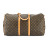 Louis Vuitton Monogram Keepall 55 Boston Bag (Pre Owned)