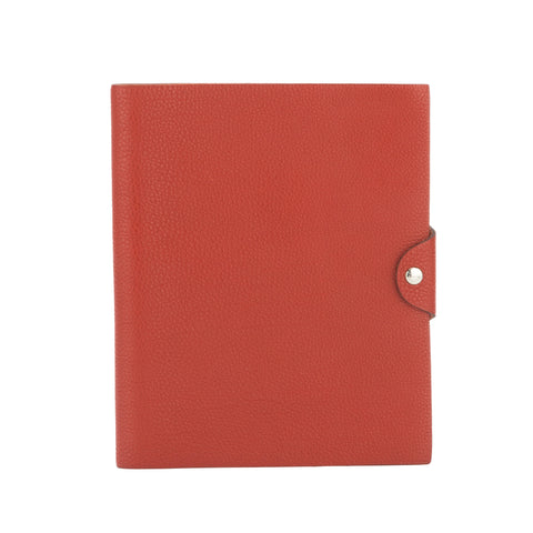 Hermes Red Agenda Ulysees MM (Pre Owned)