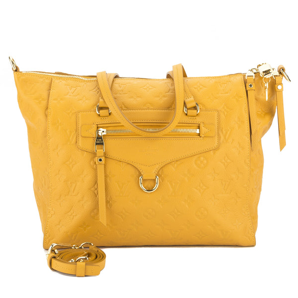 Louis Vuitton Yellow Empreinte Lumineuse PM Bag (Pre Owned ... f78aab84650ae