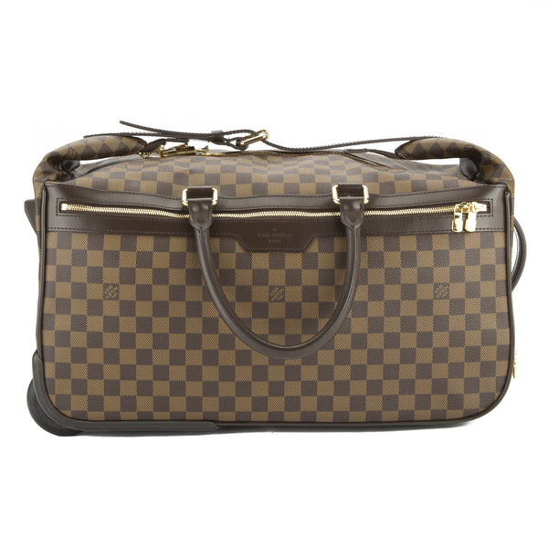 c2aa44b0bcff Louis Vuitton Damier Ebene Eole 50 Rolling Luggage Authentic Pre Owned