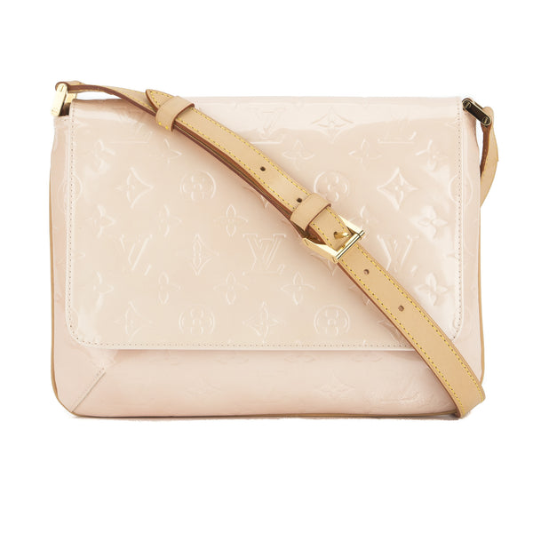 1c0c3a32e10d Louis Vuitton Pink Patent Leather Thompson Street Bag (Pre Owned ...