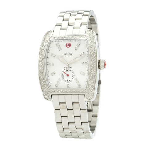 Michele Urban Mini Diamond Watch (New with Tags)