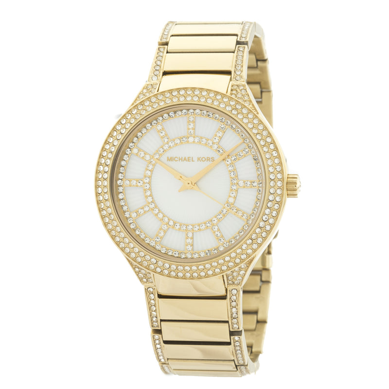 Michael Kors Gold-Tone Kerry Pavé Watch (New with Tags)