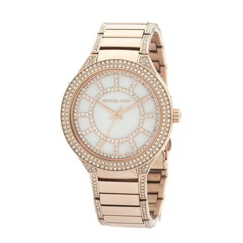 Michael Kors Rose Gold-Tone Kerry Pavé Watch (New with Tags)