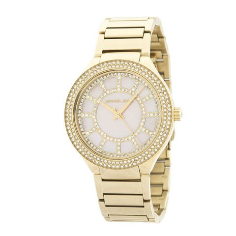 Michael Kors Gold-Tone Kerry Watch (New with Tags)