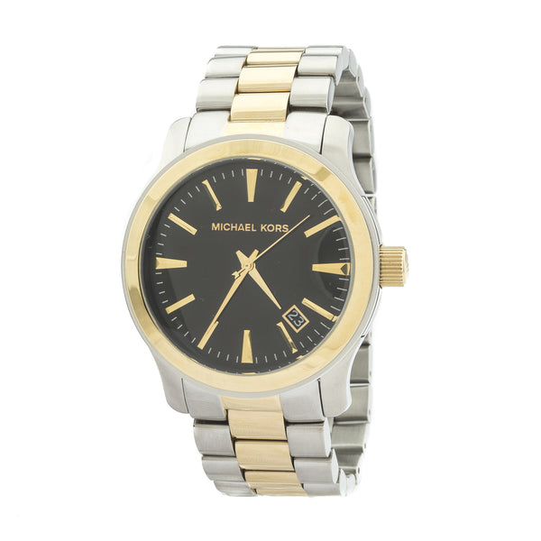 Michael Kors Runway Two-Tone Stainless Steel Watch (New with Tags)