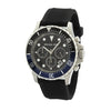 Michael Kors Men's Chronograph Everest Black Textured Silicone Strap Watch (New with Tags)