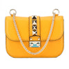 Valentino Yellow Small Chain Crossbody Bag (New with Tags)