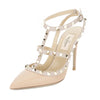 Valentino Nude Rockstud Slingback Pump, Size 37.5 (New with Tags)