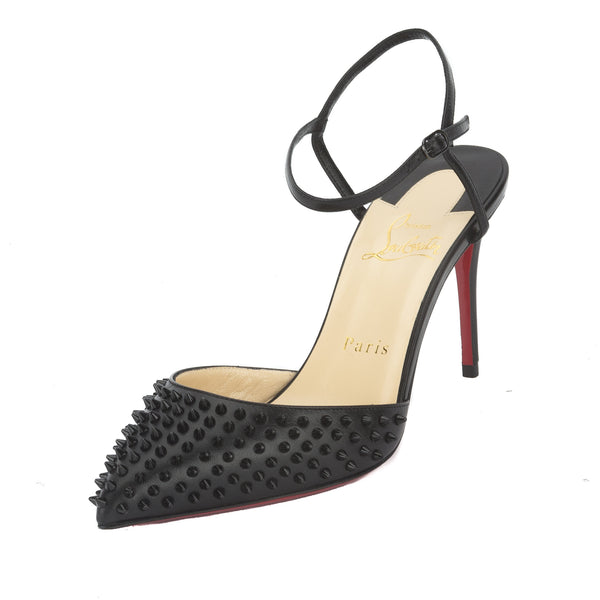 cc2919d45474 Christian Louboutin Black Baila Spiked Pump (New with Tags ...