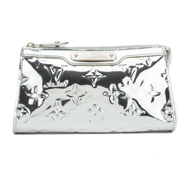 Louis vuitton miroir argent cosmetic truth pouch for Vernis miroir argent