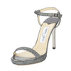Jimmy Choo Glitter Claudette Platform Sandal, Size 37 (New with Tags)