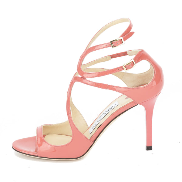 Jimmy Choo Patent Leather Slingback Sandals w/ Tags