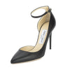 Jimmy Choo Black Lucy 100 Pump, Size 37 (New with Tags)