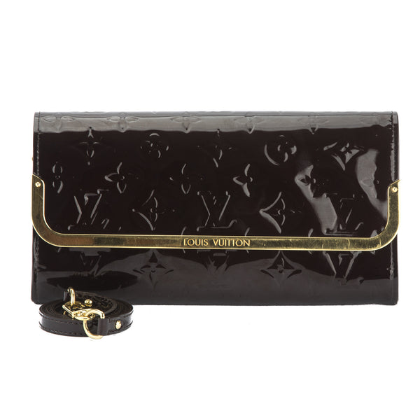 f4953407fda5 Louis Vuitton Amarante Vernis Rossmore MM Bag (Pre Owned) - 2981026 ...