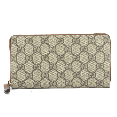 Gucci GG Monogram Zip Around Wallet (New with Tags)