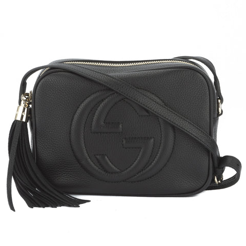 Gucci Black Soho Leather Disco Bag (New with Tags)