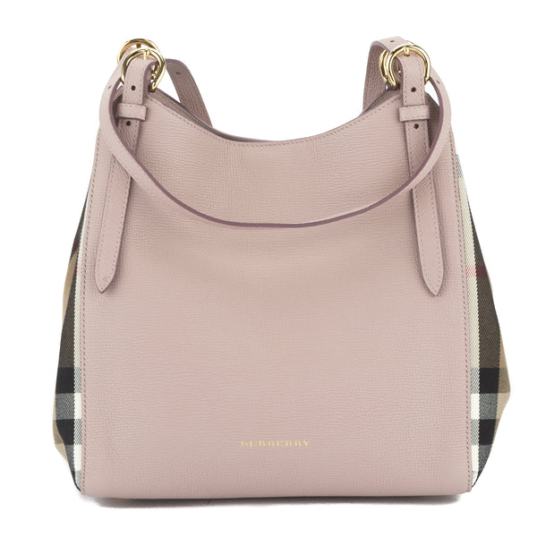 65b44f4f897 Burberry Pale Orchid Small Canter Shoulder Bag (New with Tags ...