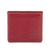 Louis Vuitton Red Epi Bifold Coin Purse (Pre Owned)