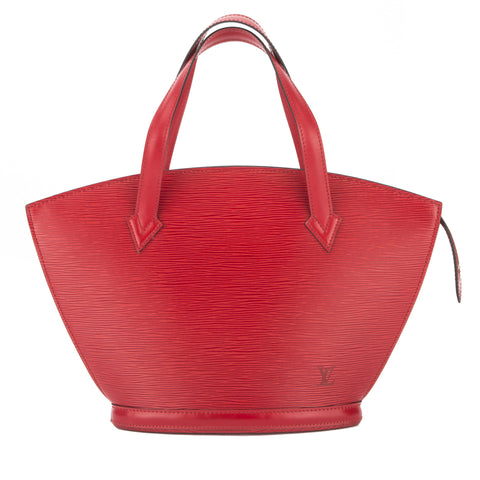 Louis Vuitton Castillian Red Epi Saint Jacques Bag (Pre Owned)
