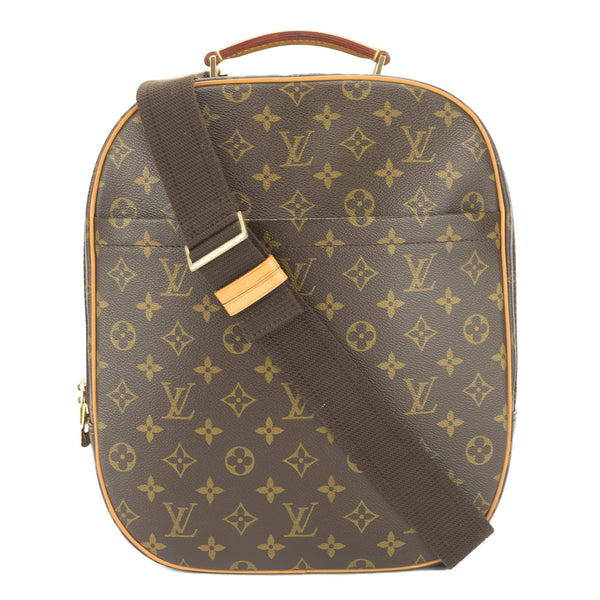 06033ec8d3f5 Louis Vuitton Monogram Sac A Dos Packall Backpack Authentic Pre Owned
