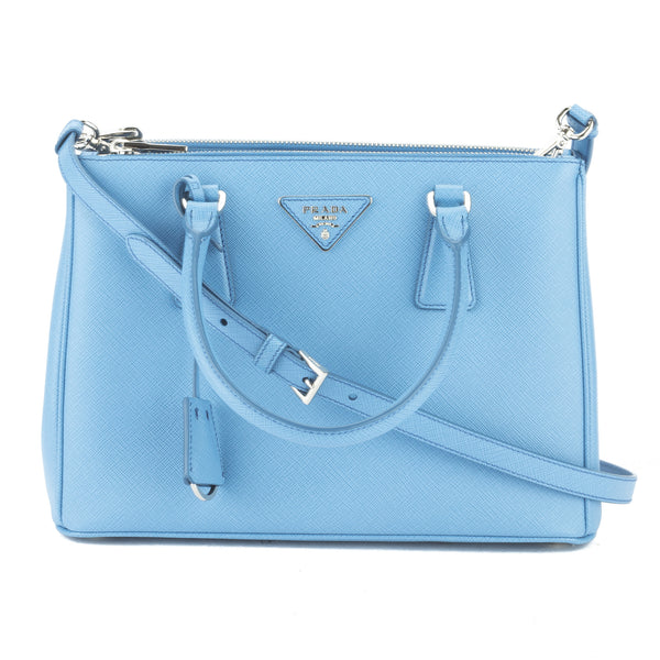 3be3572f3bcd ... wholesale prada cobalt blue saffiano lux mini galleria bag new with  tags 3026004 luxedh 10703 b9fb4