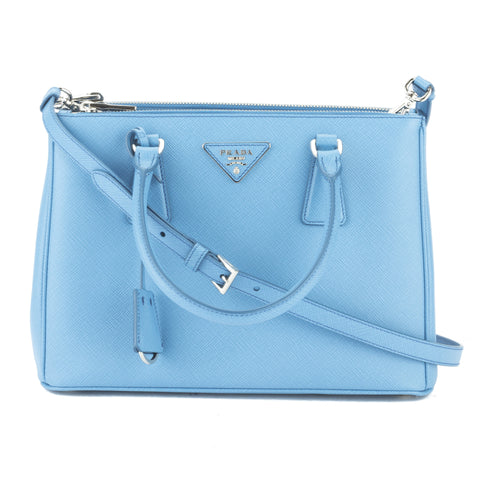 Prada Cobalt Blue Saffiano Lux Mini Galleria Bag (New with Tags)
