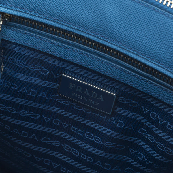 b6c55550159d Prada Cobalt Blue Saffiano Lux Mini Galleria Bag (New with Tags) - 3026004