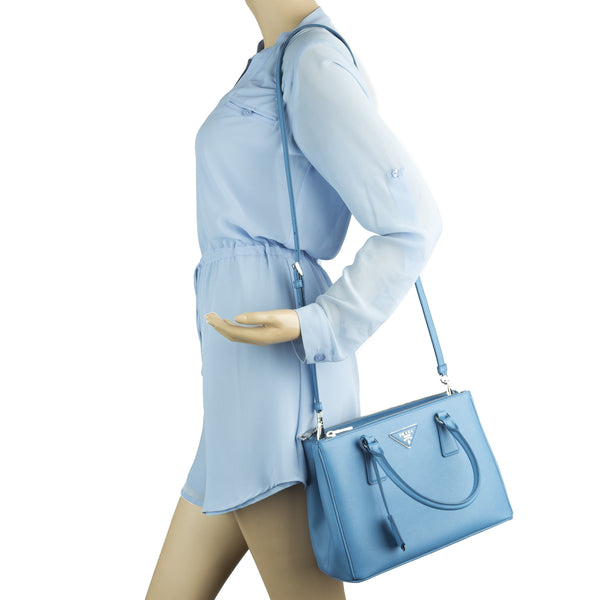 3e0ea3aeb1 ... wholesale prada cobalt blue saffiano lux mini galleria bag new with  tags 3026004 luxedh 3a974 0e00c