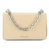 Prada Beige Saffiano Chain Shoulder Bag (New with Tags)