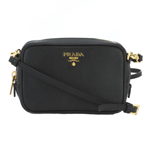 04d2fb2e88ce Prada Black Saffiano Camera Bag (New with Tags) - 3026007 | LuxeDH