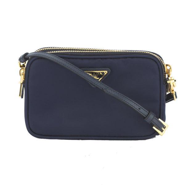 a27ecf67615 Prada Navy Blue Tessuto Nylon Camera Bag (New with Tags) - 3026013 ...
