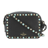 Valentino Black Leather Rockstud Rolling Camera Bag (New with Tags)
