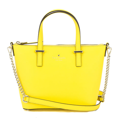 Kate Spade Solar Yellow Leather Cedar Street Harmony Crossbody Bag (New with Tags)