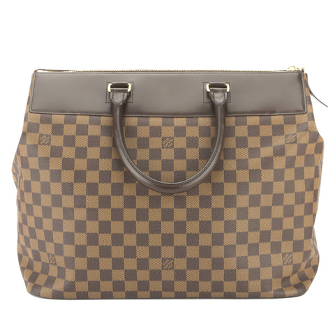 Louis Vuitton Damier Ebene Greenwich PM Travel Bag (Pre Owned)