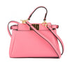 Fendi Pink Leather Micro Peekaboo Bag  (New with Tags)