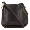 Chloé Black Leather Hayley Small Hobo Bag (Authentic Pre-Owned)