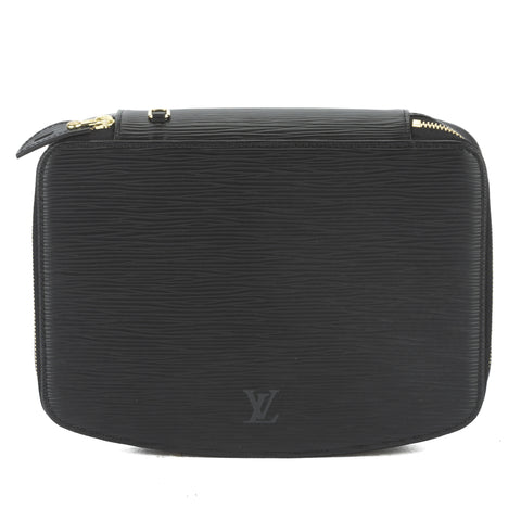 Louis Vuitton Noir Epi Monte Carlo Jewelry Case (Pre Owned)