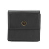 Chanel Black Calfskin Leather Trifold Wallet (Pre Owned)