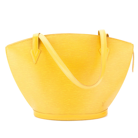 Louis Vuitton Tassil Yellow Epi Saint Jacques Shopping Tote (Authentic Pre Owned)