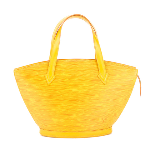 Louis Vuitton Tassil Yellow Epi Saint Jacques PM Bag (Authentic Pre Owned)