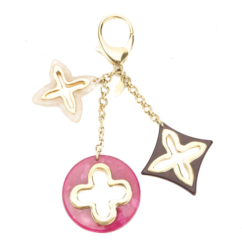 Louis Vuitton Fuchsia Bijoux Sac Insolence Bag Charm (Pre Owned)