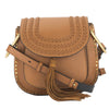 Chloe Caramel Leather Hudson Medium Shoulder Bag (New with Tags)