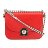 Prada Lacquer Red Leather Arcade Bag (New with Tags)