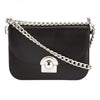 Prada Black Leather Arcade Bag (New with Tags)