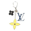 Louis Vuitton Black/Yellow/Navy Fleur d'Epi Bag Charm (Pre Owned)